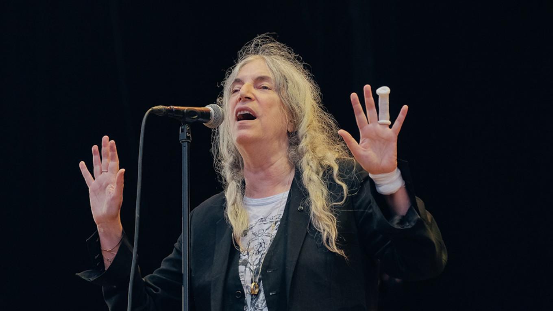 Patti Smith was a hit with everyone. Konstantin Kondrukhov / Courtesy of Flow Festival