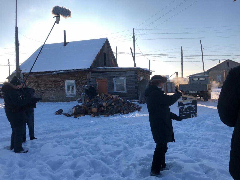 "Filming ""Scarecrow"" Courtesy of Dmitry Davydov"