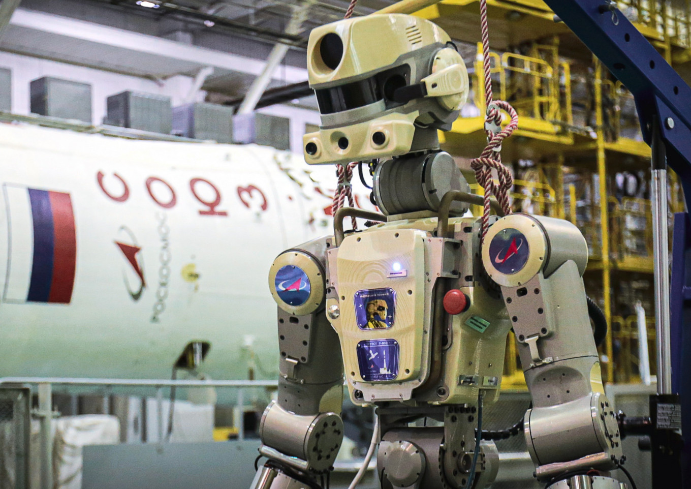 Russian Spacecraft Carrying Humanoid Robot Fails to Dock With Space Station
