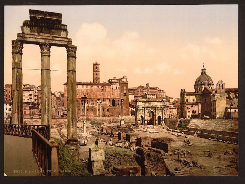 Forum Romano, Rome, Italy. Project 1917