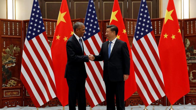 Barak Obama and Xi Jinping Jonathan Ernst / Reuters