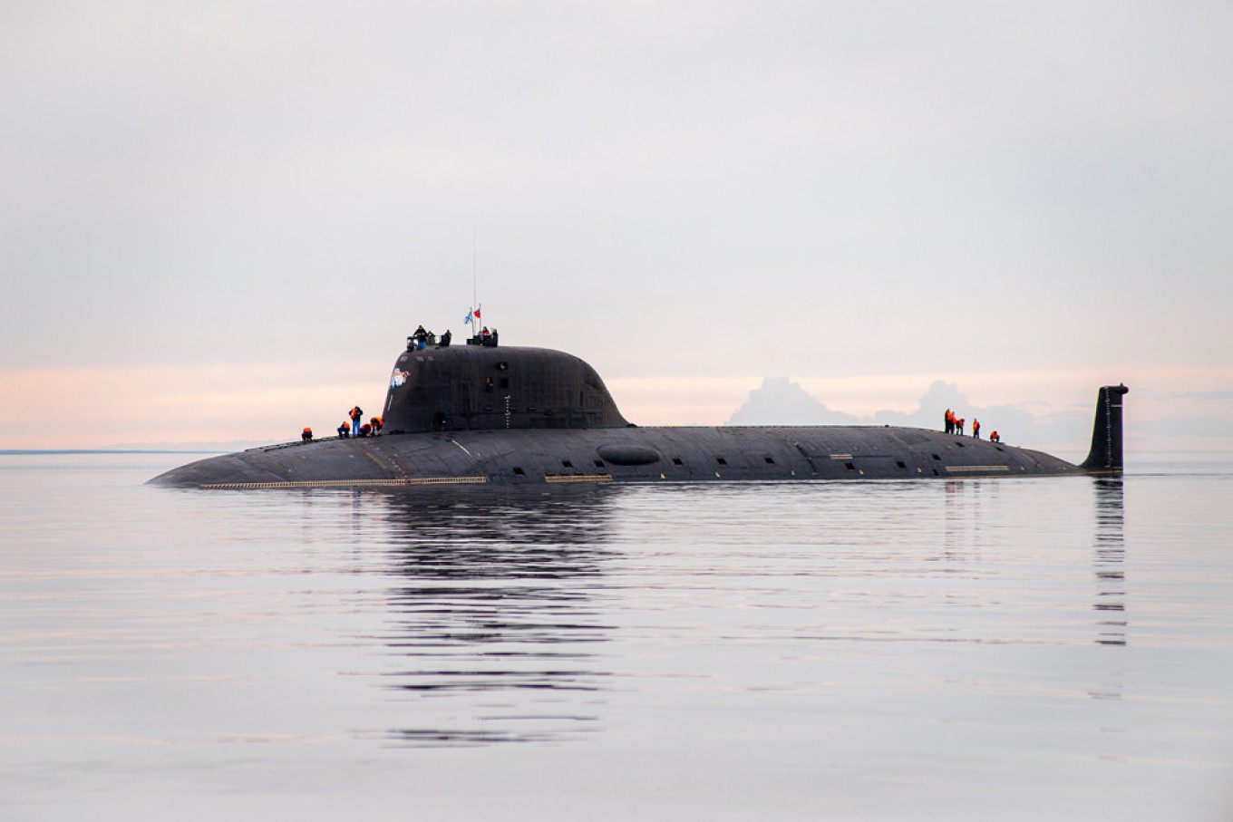 Russia's High-Tech Nuclear Submarine Delayed By Design Flaws