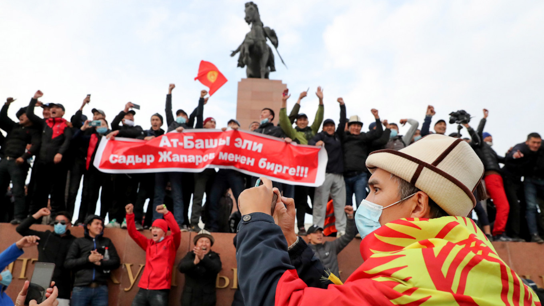 Kyrgyzstan went through its third revolution since 2005. Igor Kovalenko / EPA / TASS