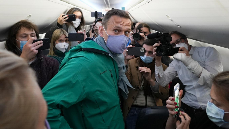 Alexei Navalny before his detention. Mstyslav Chernov / AP / TASS