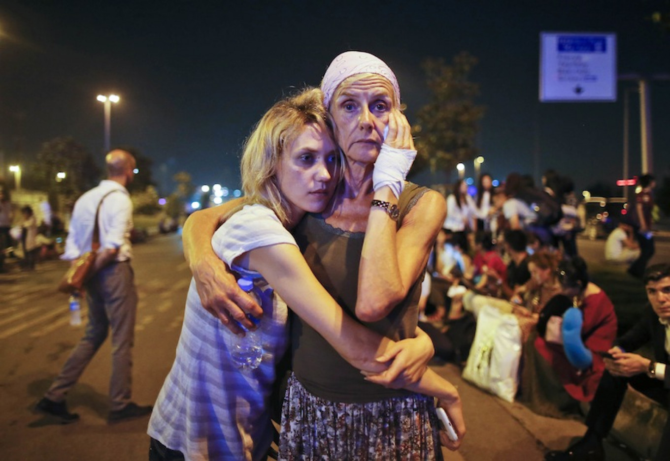 Turkish patience for North Caucasian emigres is unkilely to hold if the attacks continue.  Emrah Curel / AP
