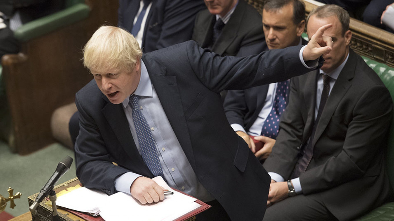 6 Things British Pm Boris Johnson Has Said About Russia The Moscow Times