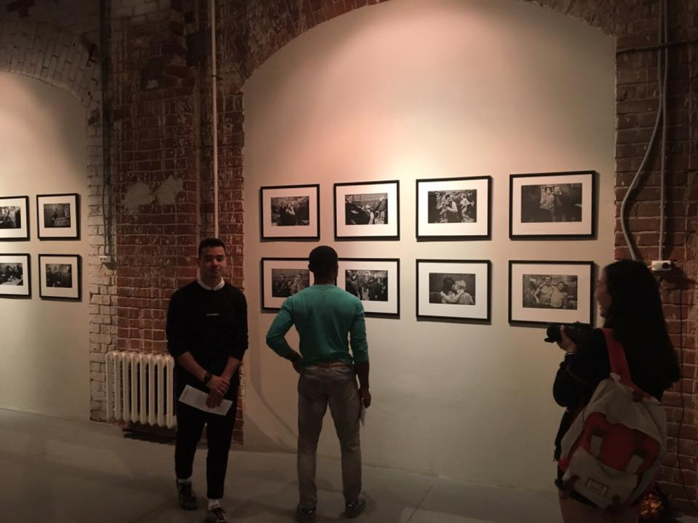 Show of works by Anders Petersen at the Smena Center for Contemporary Culture, Kazan Facebook