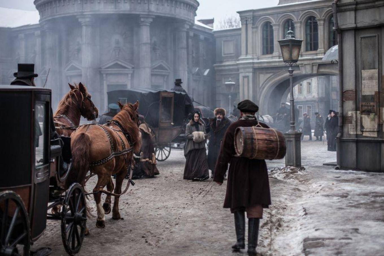 Scenes from the new version of 'Anna Karenina' by Karen Shakhnazarov were shot on Mosfilm's sets.  MOSFILM