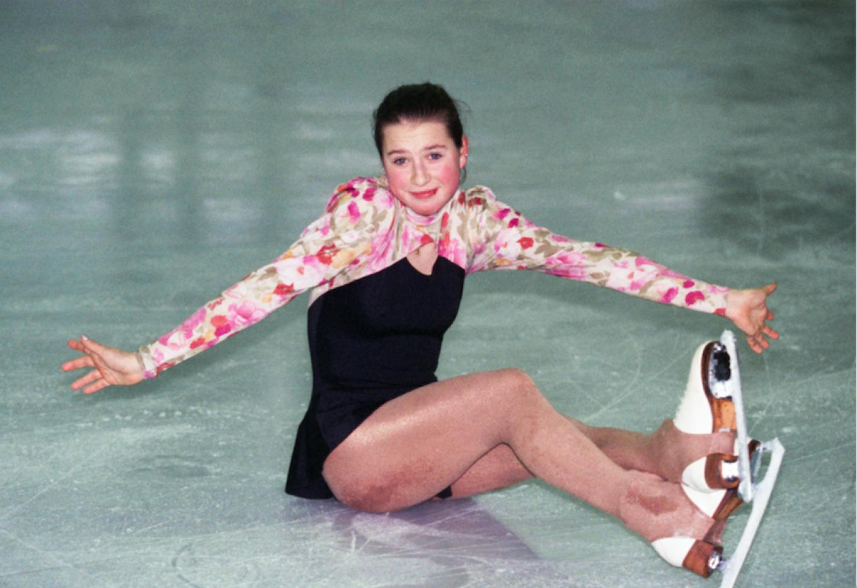 Irina Slutskaya, late 1990s  Igor Utkin / TASS