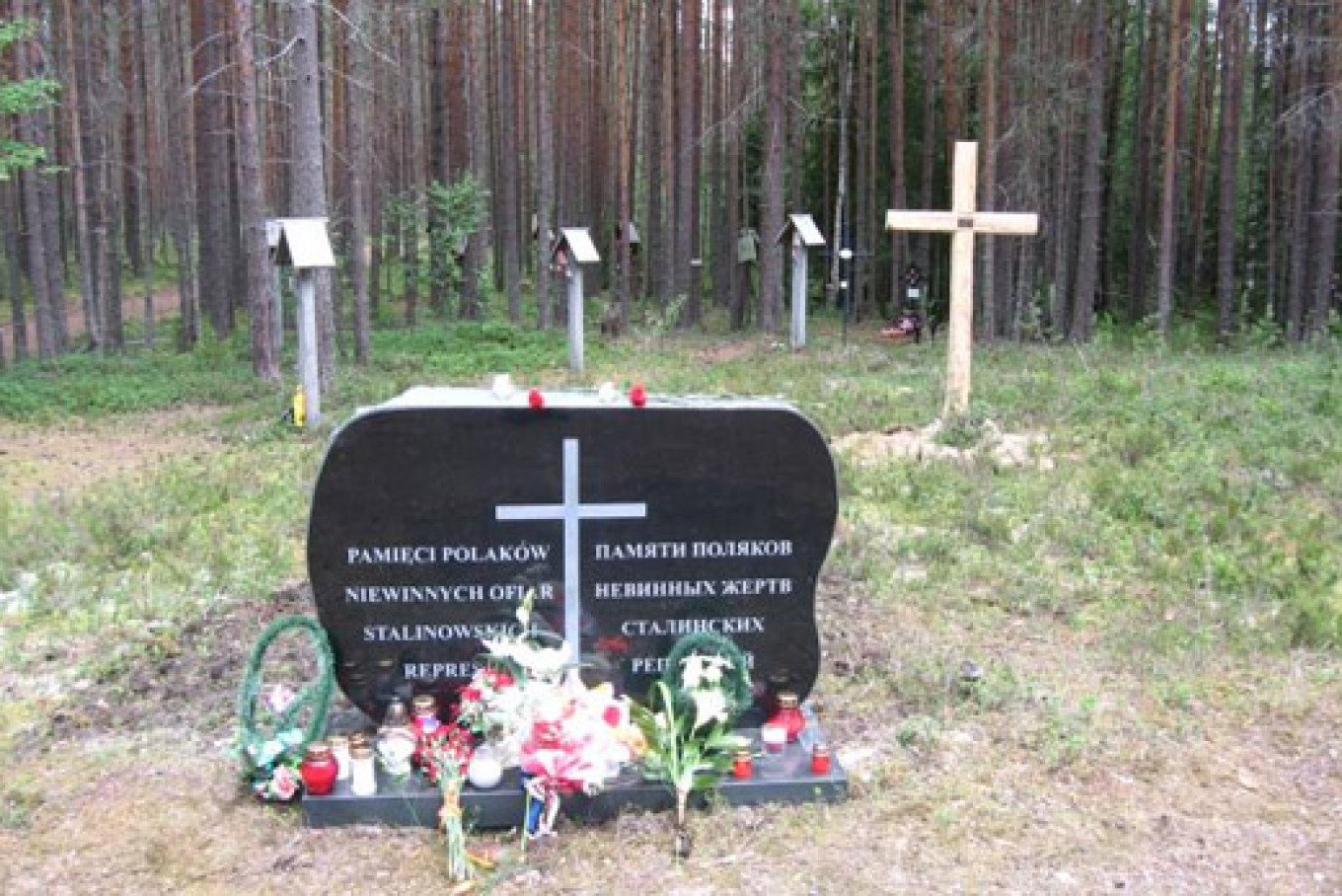 Among the victims of Stalin's terror in Sandarmokh are Russians, Ukrainians, Poles, Finns, Germans, Jews - more than 50 nationalities overall.  www.solovki.ca