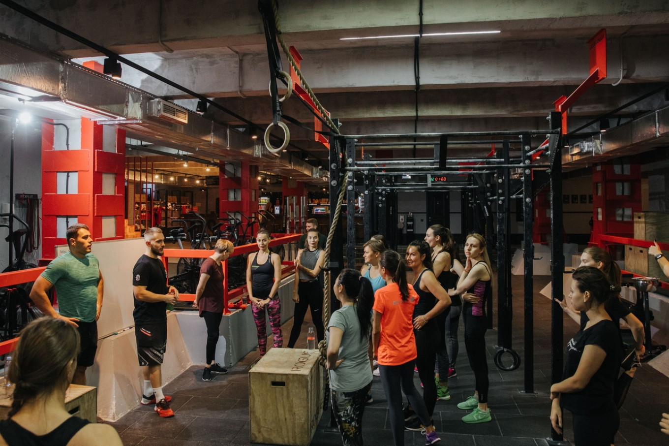 """Moscow's gyms and fitness clubs have already been forced to close. Alexandra Gerasimova, co-founder of Fitmost, which offers subscriptions to fitness classes said: """"We don't get any support … We need interest-free loans and subsidies that would help cover rent, critical expenses and support employees on reduced hours. We will not be able to cope in this situation without state support."""" Credit:  Fitmost"""