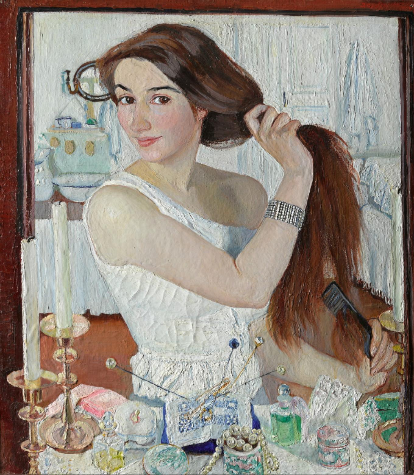 Self-portrait  Tretyakov Gallery