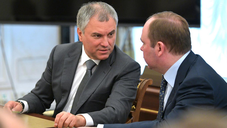 Vyacheslav Volodin Kremlin.ru