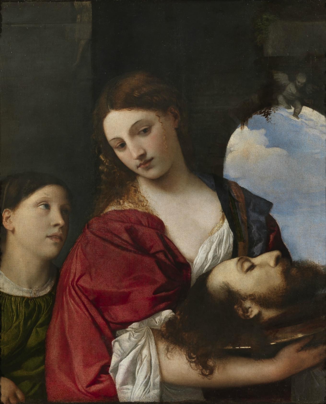 Salome by Titian Pushkin Museum of Fine Arts