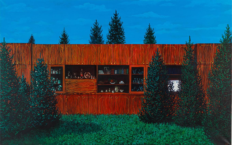 """Wall"" by Damir Muratov Sinara Art Gallery"