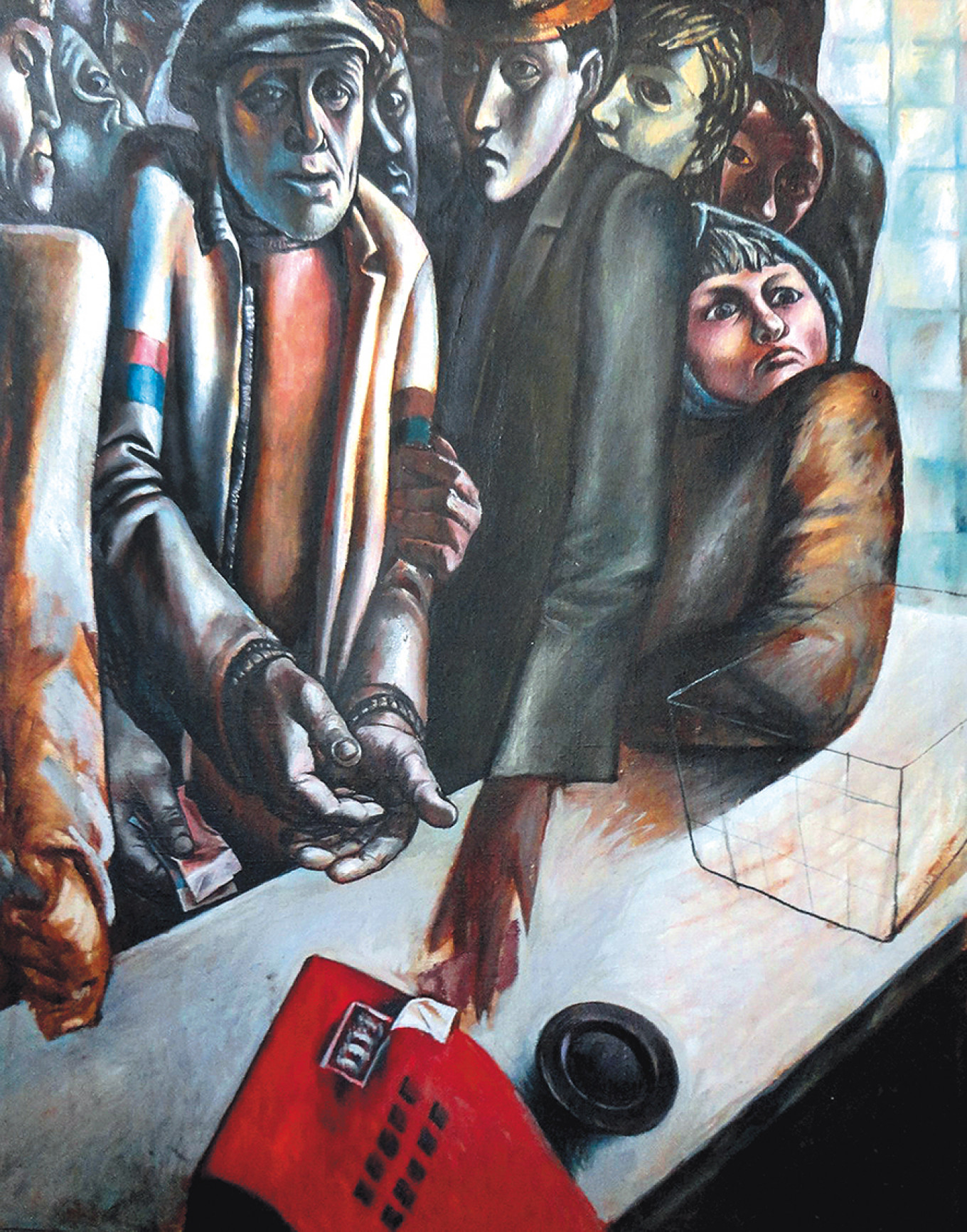 """Five Minutes to Two"" by Sergei Maltsev Sinara Art Gallery"