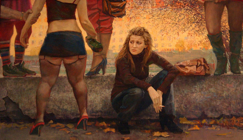 """""""Lyusya"""" by Maxim Titov Sinara Art Gallery"""