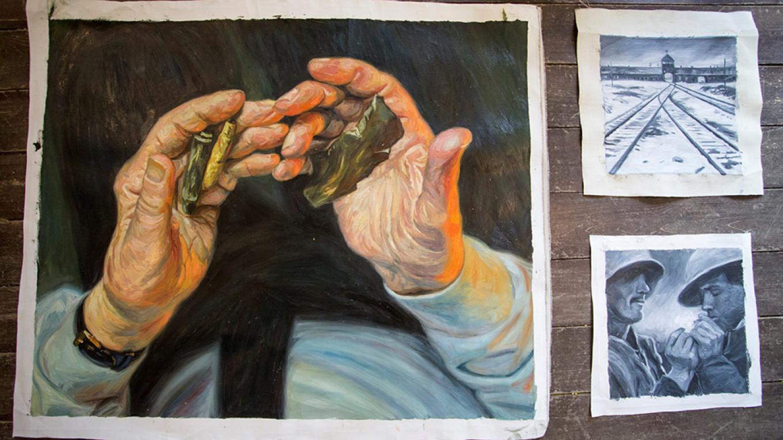 Hands and memories. Kseniya Yablonskaya