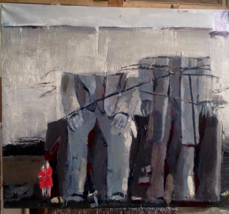 A work by Alla Davydova at the Erarta Gallery. Courtesy of Erarta Gallery
