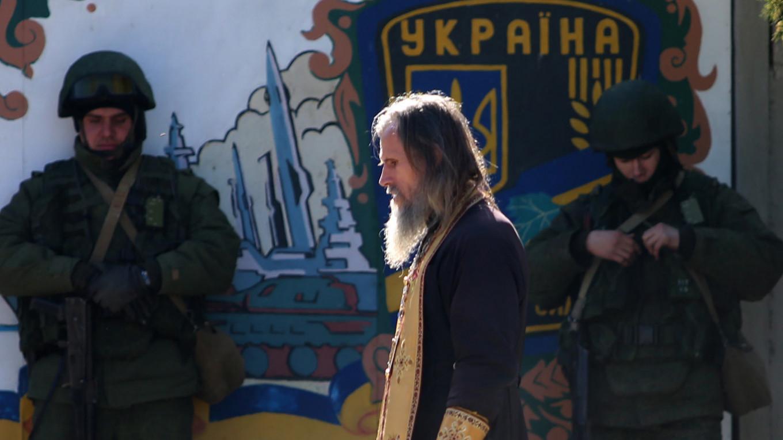 Russian Priests Cossacks Negotiated Ukraine S Surrender During