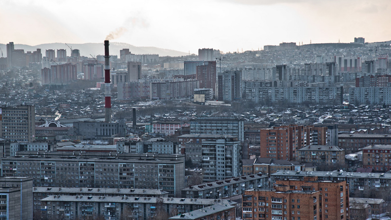 Black Smog Raises Siberian City's Alarms - The Moscow Times