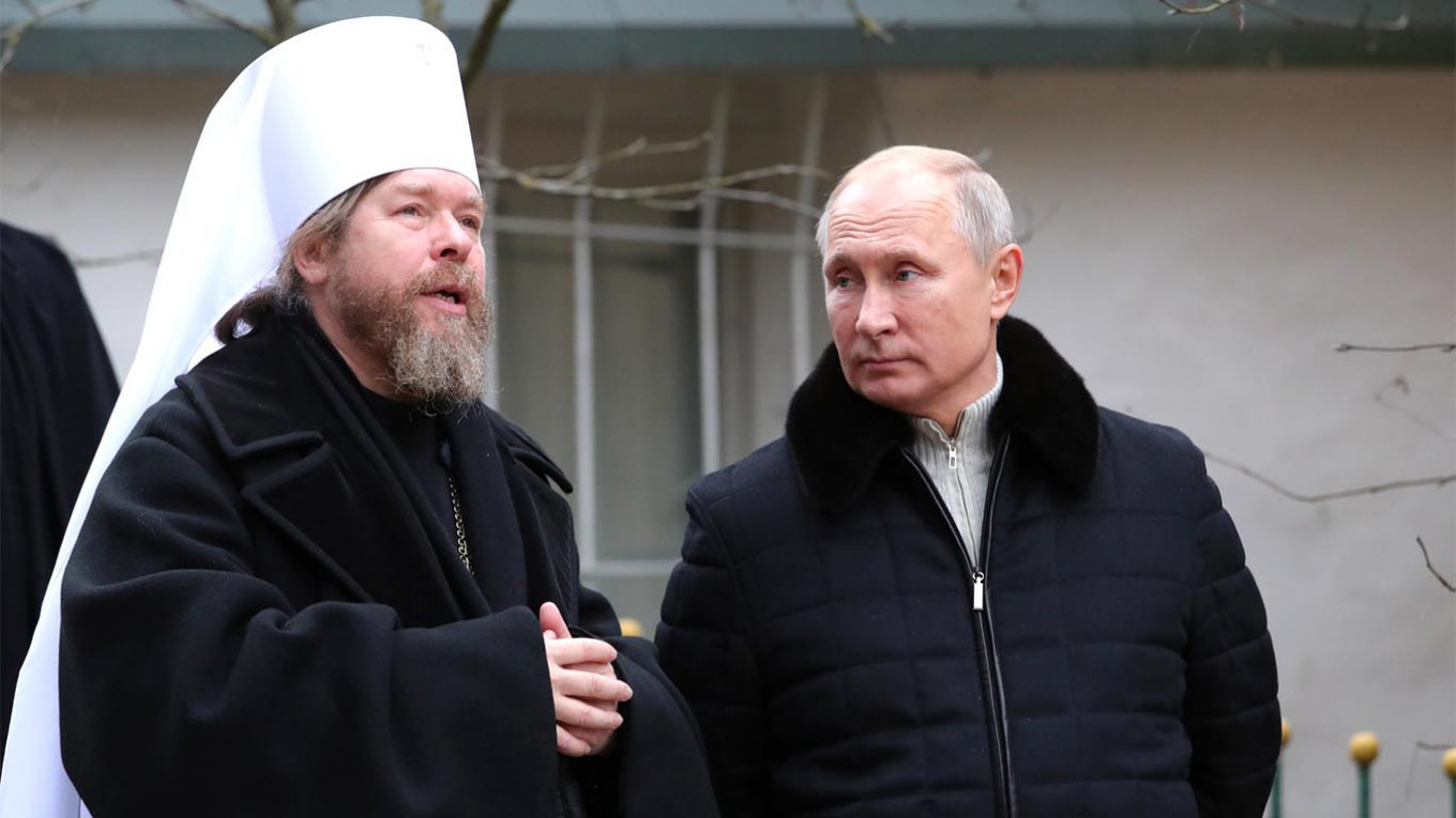 Putin's Rumored Confessor Denies Contracting Coronavirus - The Moscow Times