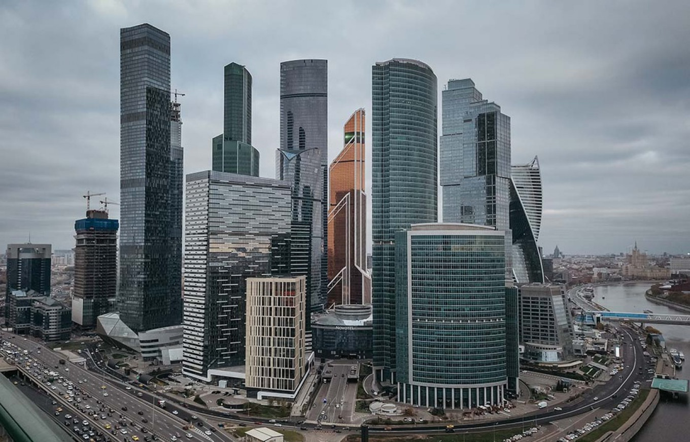 The Skyscrapers of Moscow City, in Photos