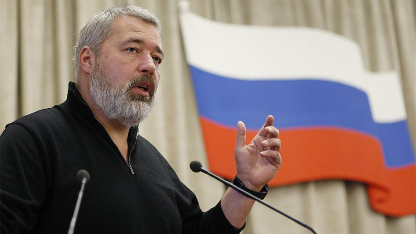 Dmitry Muratov, Novaya Gazeta's chief editor, entrusted a group of young colleagues with the development of the paper's new sexual harassment policy. Mikhail Dzhaparidze / TASS