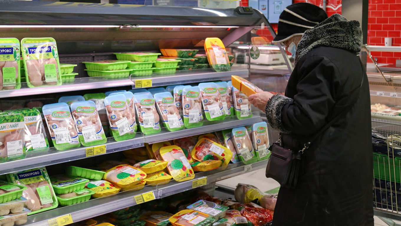 'We Need Our Government': Surging Food Prices Put Kremlin on Edge – The Moscow Times