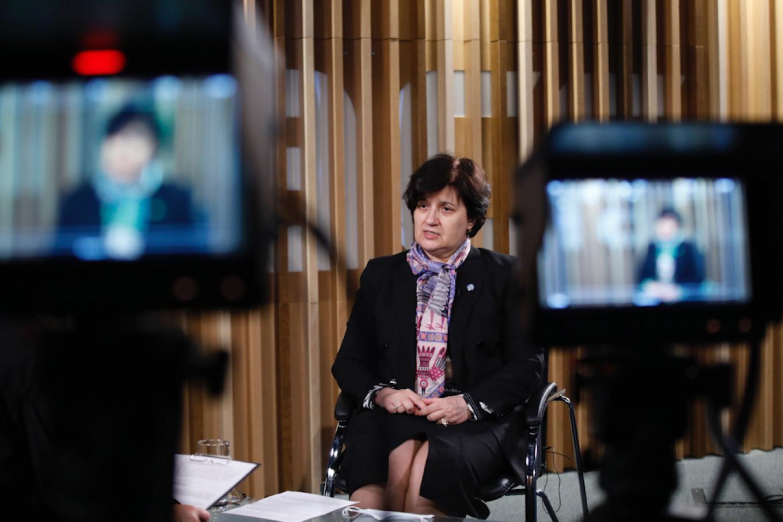 Dr. Melita Vujnovic Mikhail Pochuyev / TASS