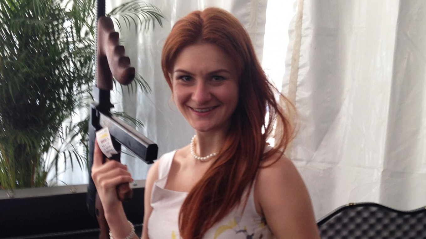 Admitted Russian Agent Butina Asks U.S. Court to Be Lenient