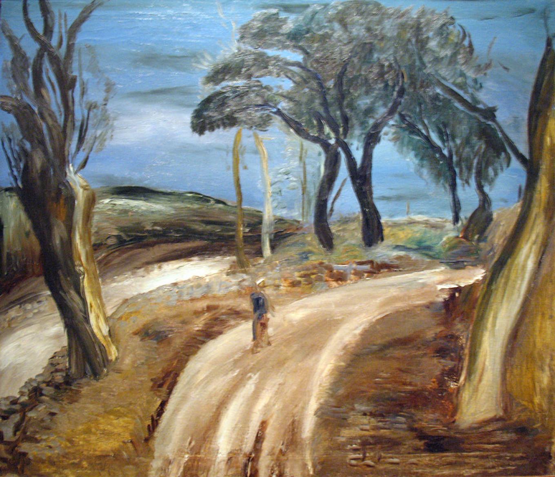 """Armenian Road"" by Alexander Drevin, 1933 Courtesy of the Tretyakov Gallery"