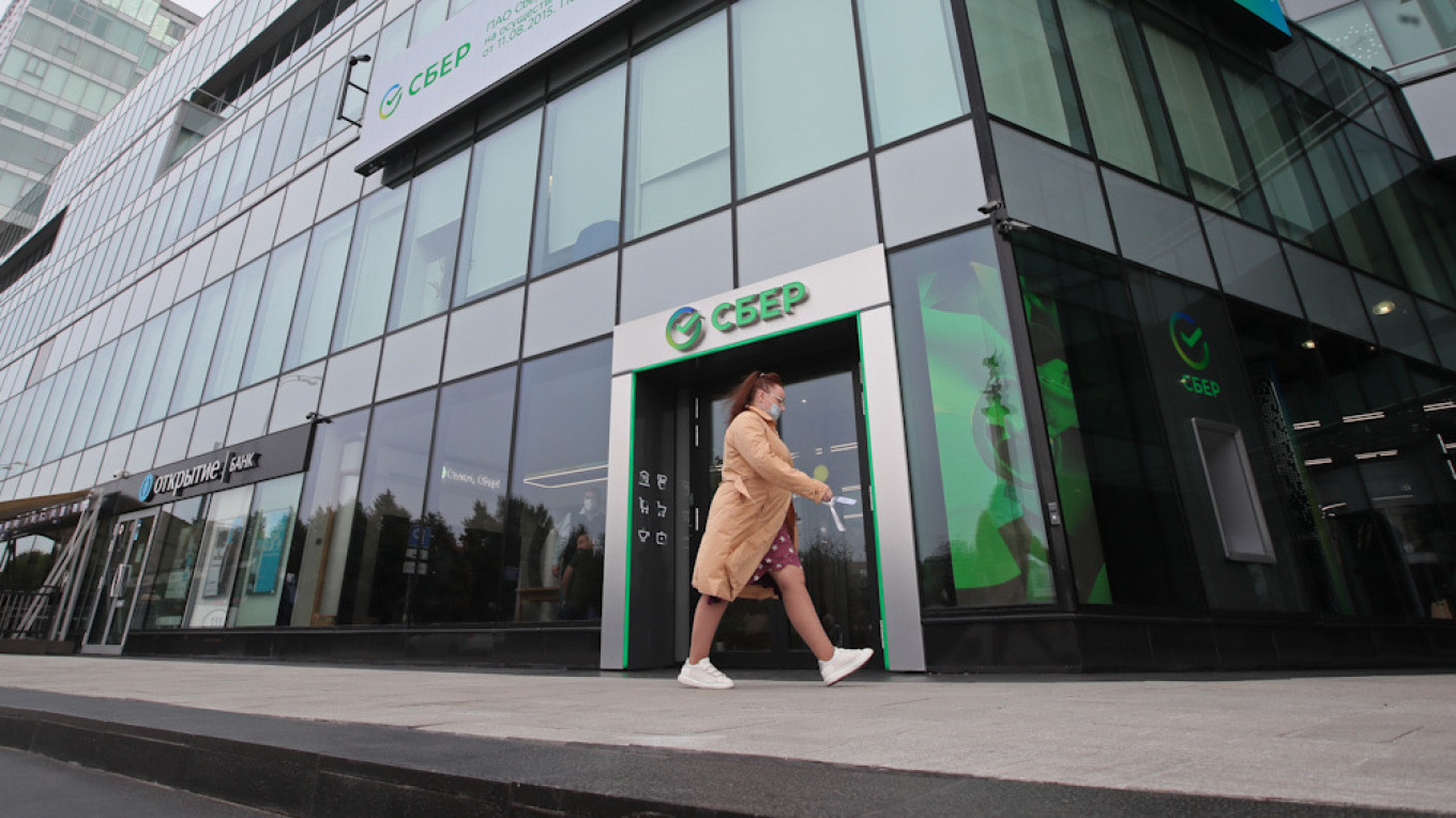 Sberbank used the pandemic to push into new industries, announcing plans to become a major player in almost every part of Russia's consumer economy. 				 				Vladimir Gerdo / TASS