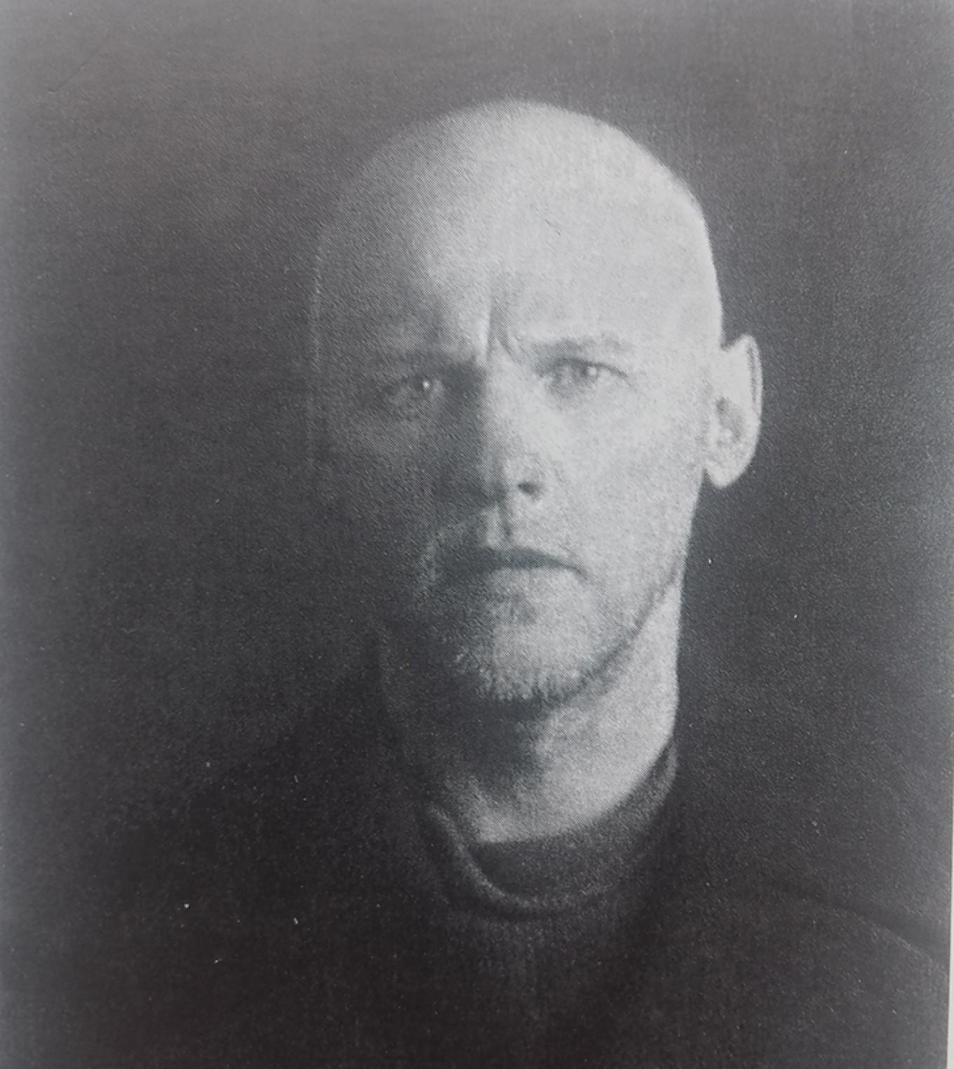 Alexander Drevin after his arrest.