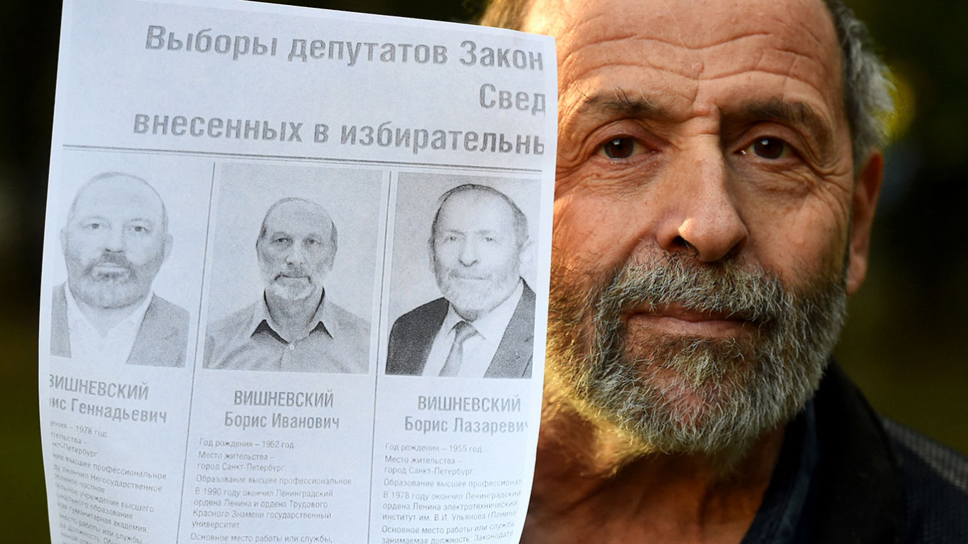 Russian Opposition Politician Loses Vote Marred by Doppelgangers – The Moscow Times
