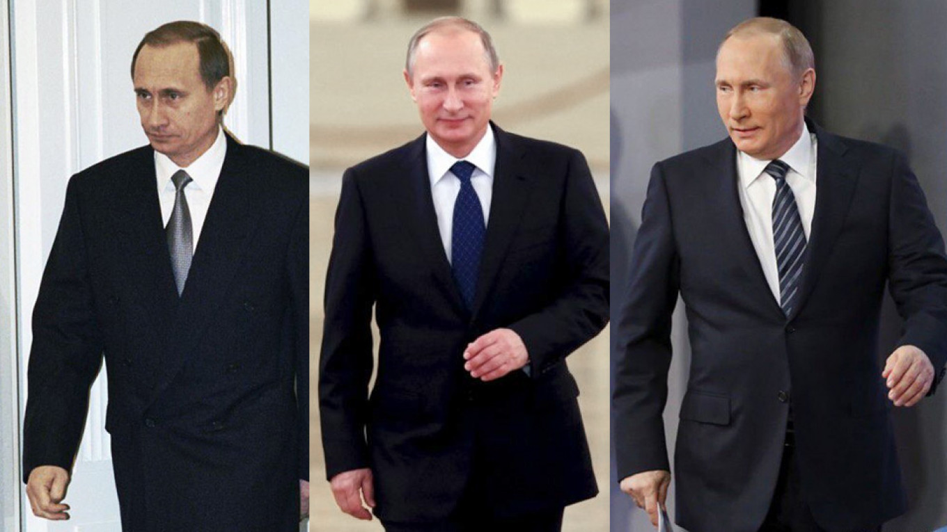 20 Years Of Vladimir Putin The Rise And Decline Of A Regime The Moscow Times