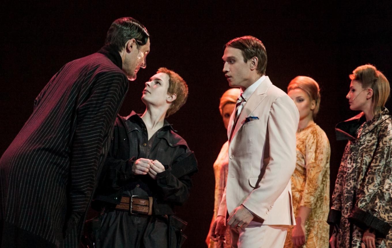 """""""Ivona, Princess of Burgundia,"""" by Polish director Grzegorz Jarzyna. Maria Zaivy/Theater of Nations"""