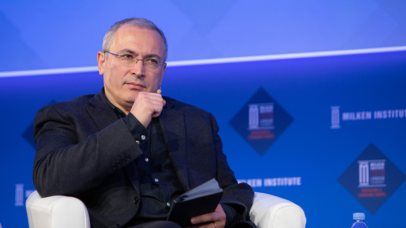Khodorkovsky Group Condemns Repression in Russia in Open Letter, Gains Prominent Supporters