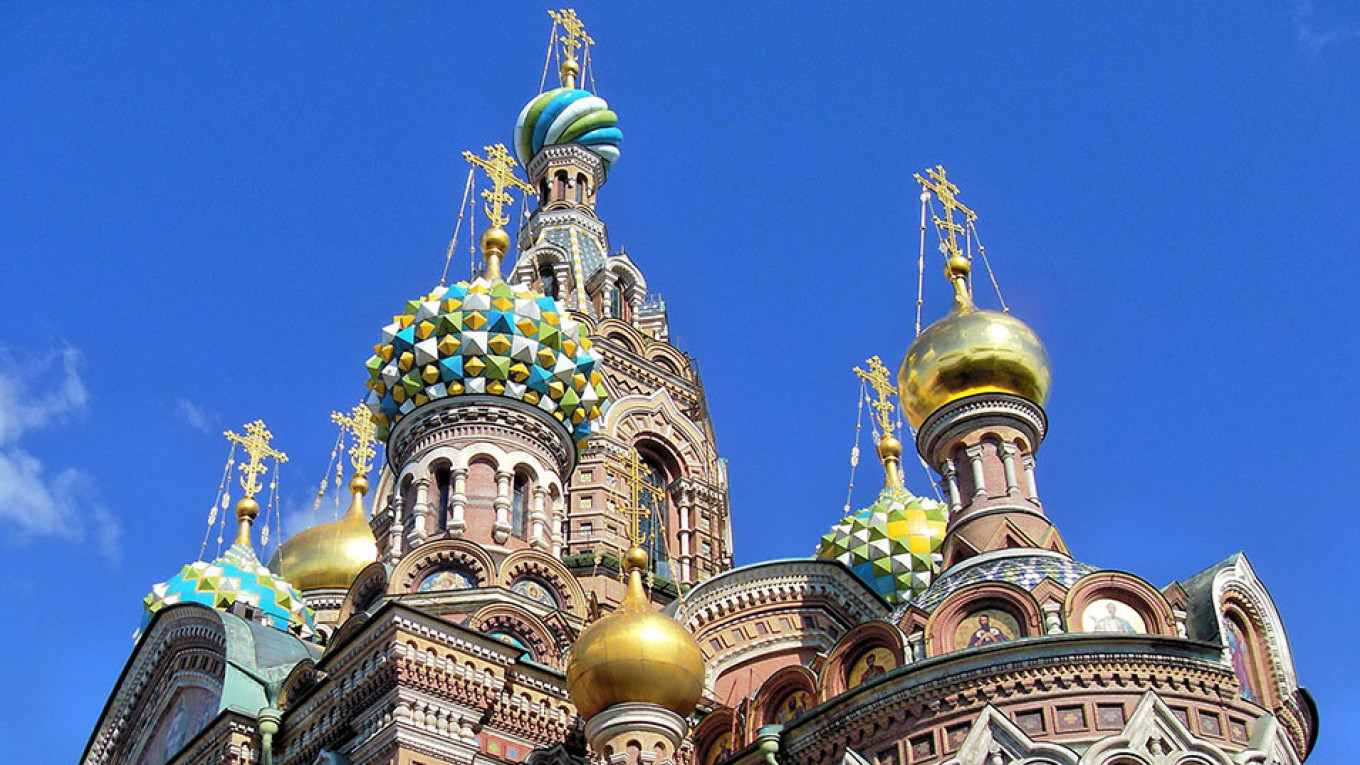 The Church of the Savior on Spilled Blood Pixabay