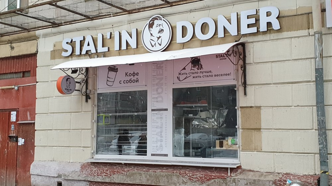 Moscow 'Stalin Shawarma' Stand Ordered Closed After Outcry - The Moscow Times