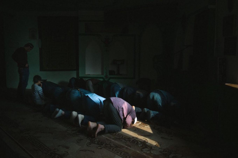 Prayers at the Volga Islamic Center Sergey Karpov for TD