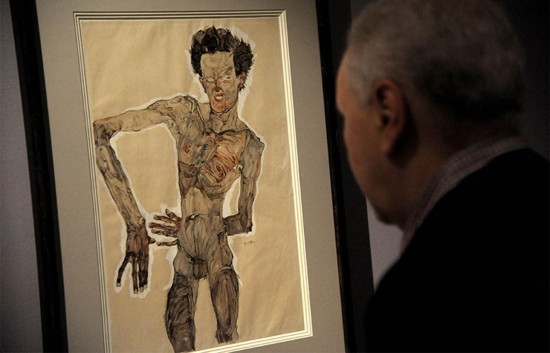 Gustav Klimt and Egon Schiele (Avilov Alexander / Moskva News Agency)