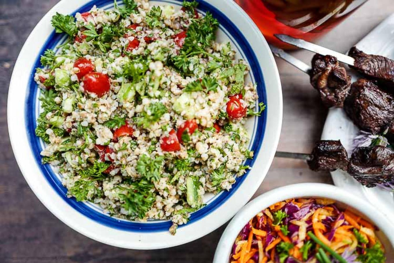 Think tabouli, only with buckwheat groats. Jennifer Eremeeva / MT