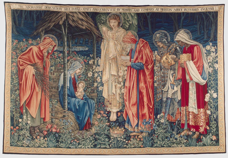 Adoration of the Magi, tapestry by Edward Burne-Jones