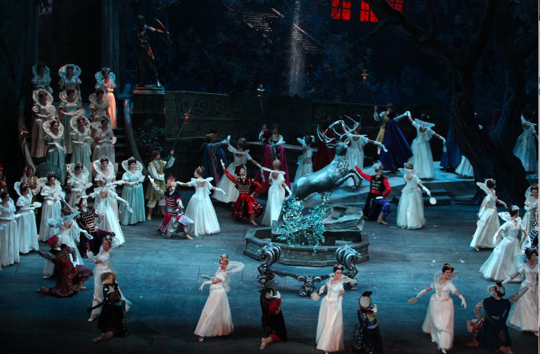 "A scene from a previous performance ""Boris Godunov.""  Damir Yusupov/Bolshoi Theatre"