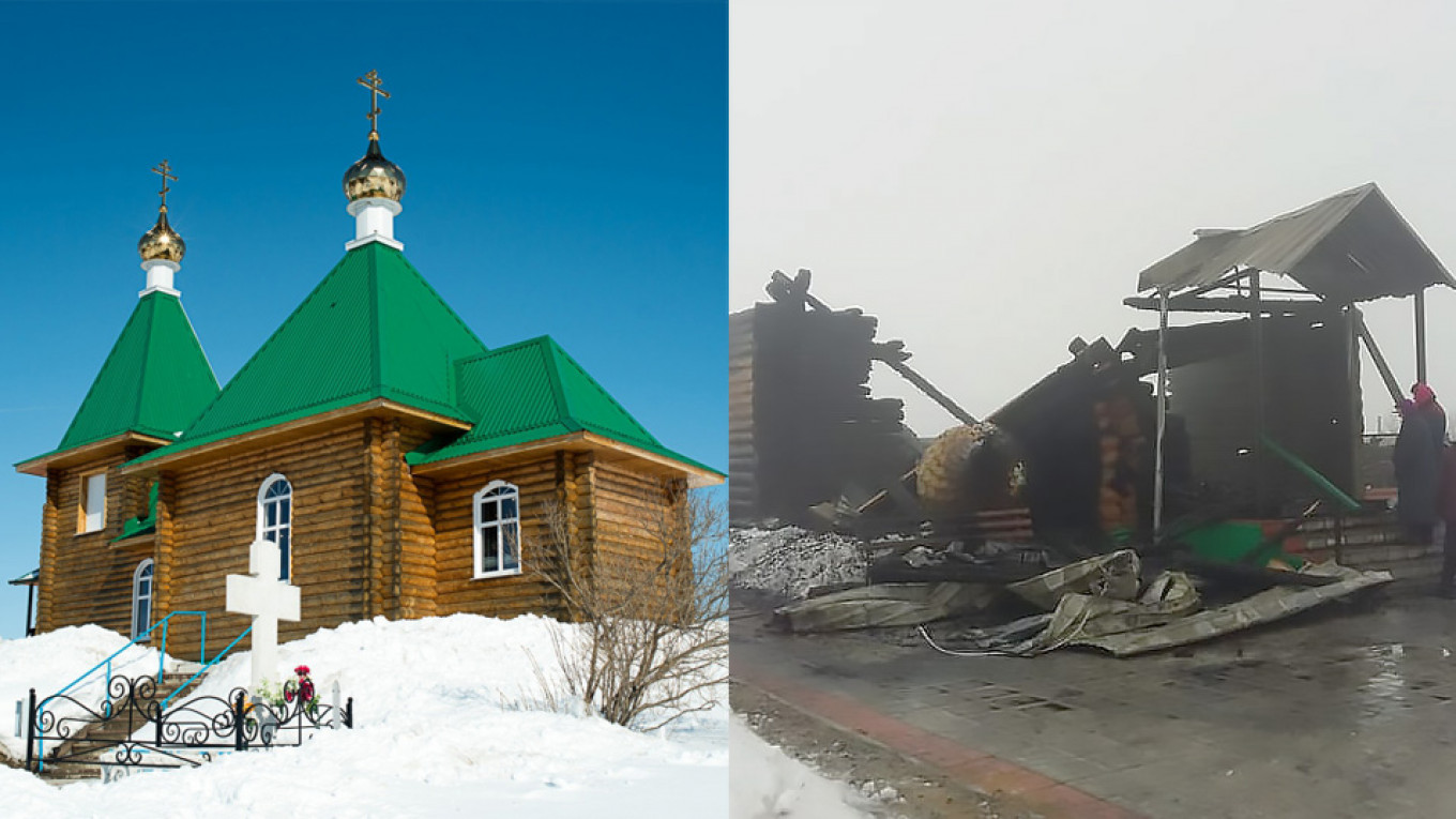 The Church of Archangel Michael Diocese of Penza