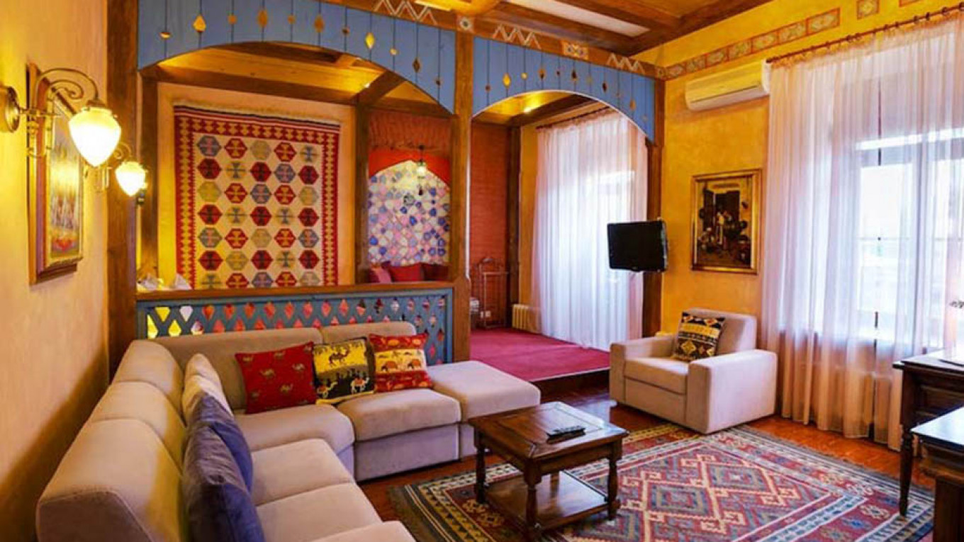 Go to sleep in Morocco without leaving St. Petersburg  Courtesy of Alexander House Hotel