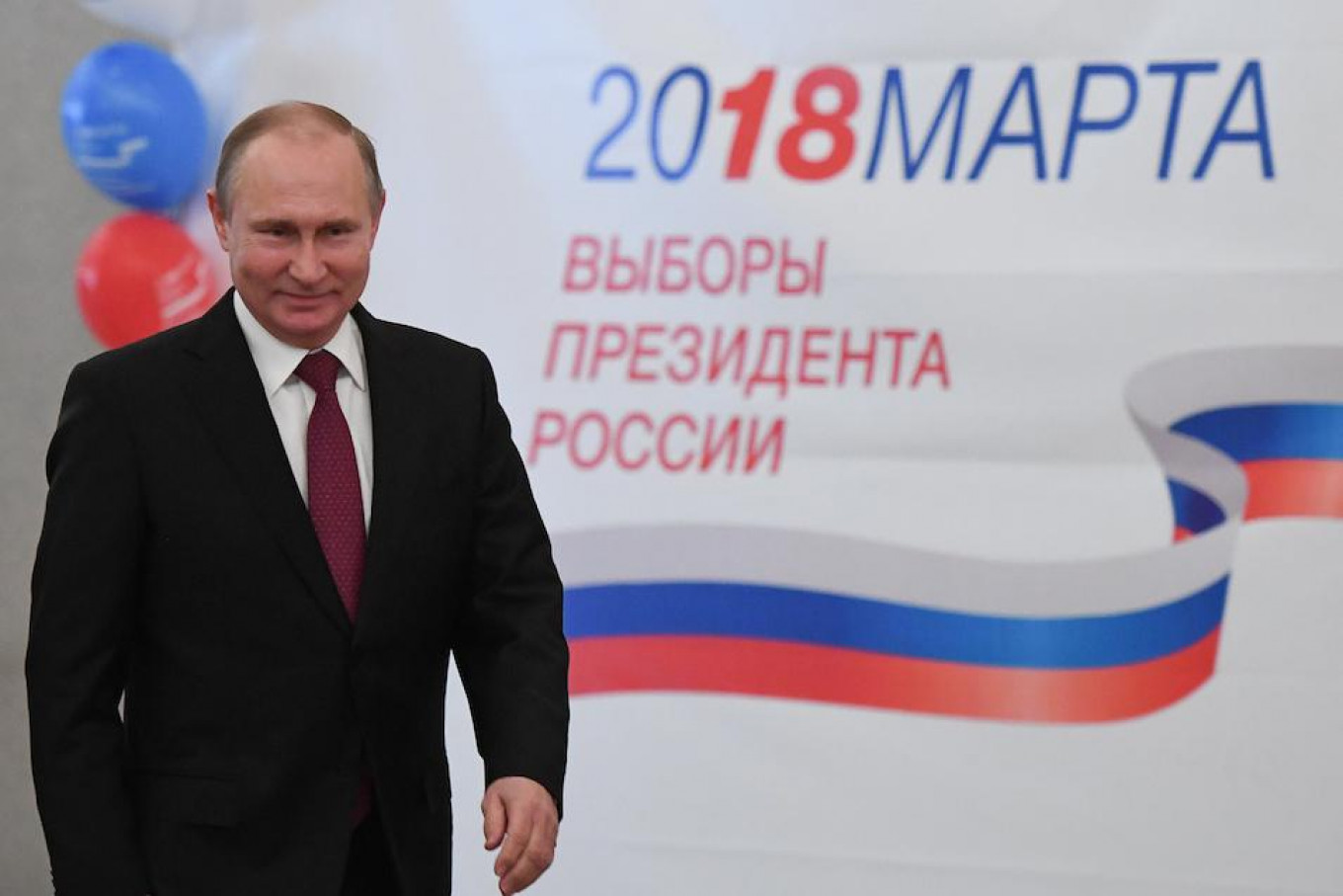 Putin won a landslide re-election victory in March, extending his rule to 2024. Pool / Reuters