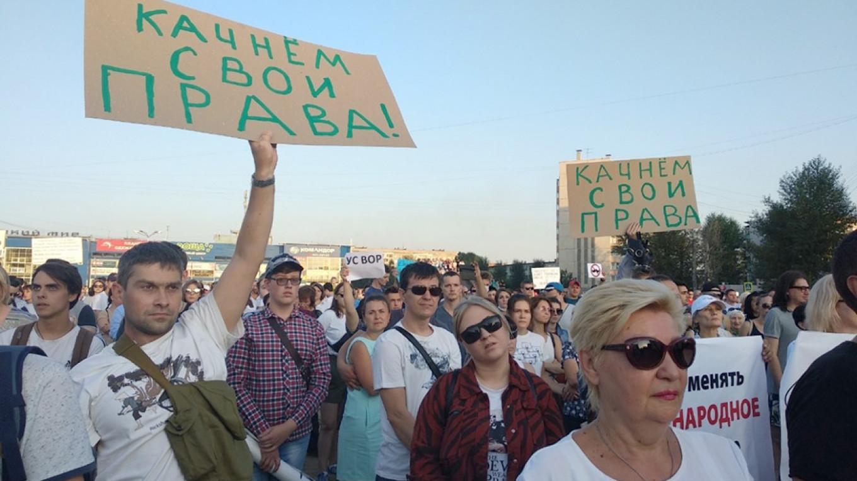 "Krasnoyarsk's governor Alexander Uss said fighting wildfires was ""economically unprofitable."" ngs24.ru"