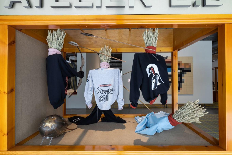 A shop window, reimagined. Ivan Erofeev / Garage Museum of Contemporary Art
